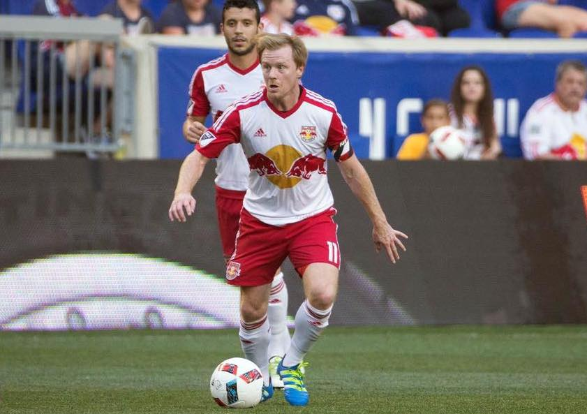 McCarty, Red Bulls, Fire