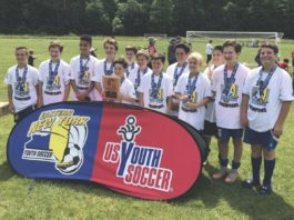 West Islip Alliance Arch Cup champions
