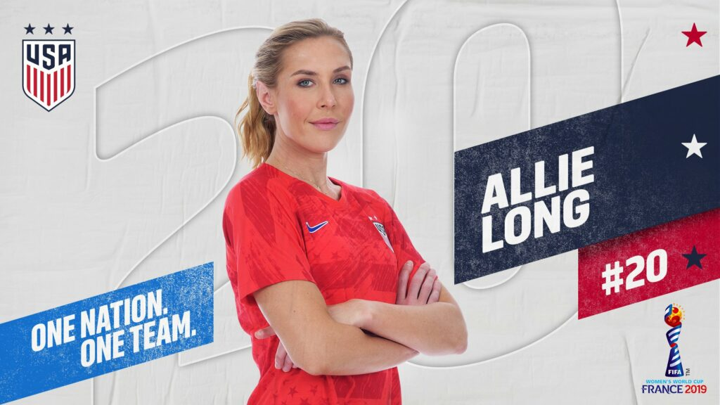 Allie Long, USWNT, World Cup