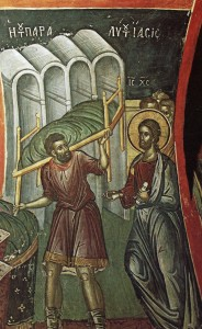 Healing of the Paralytic
