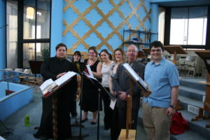 The Full Kheruvym Chamber Choir in 2010