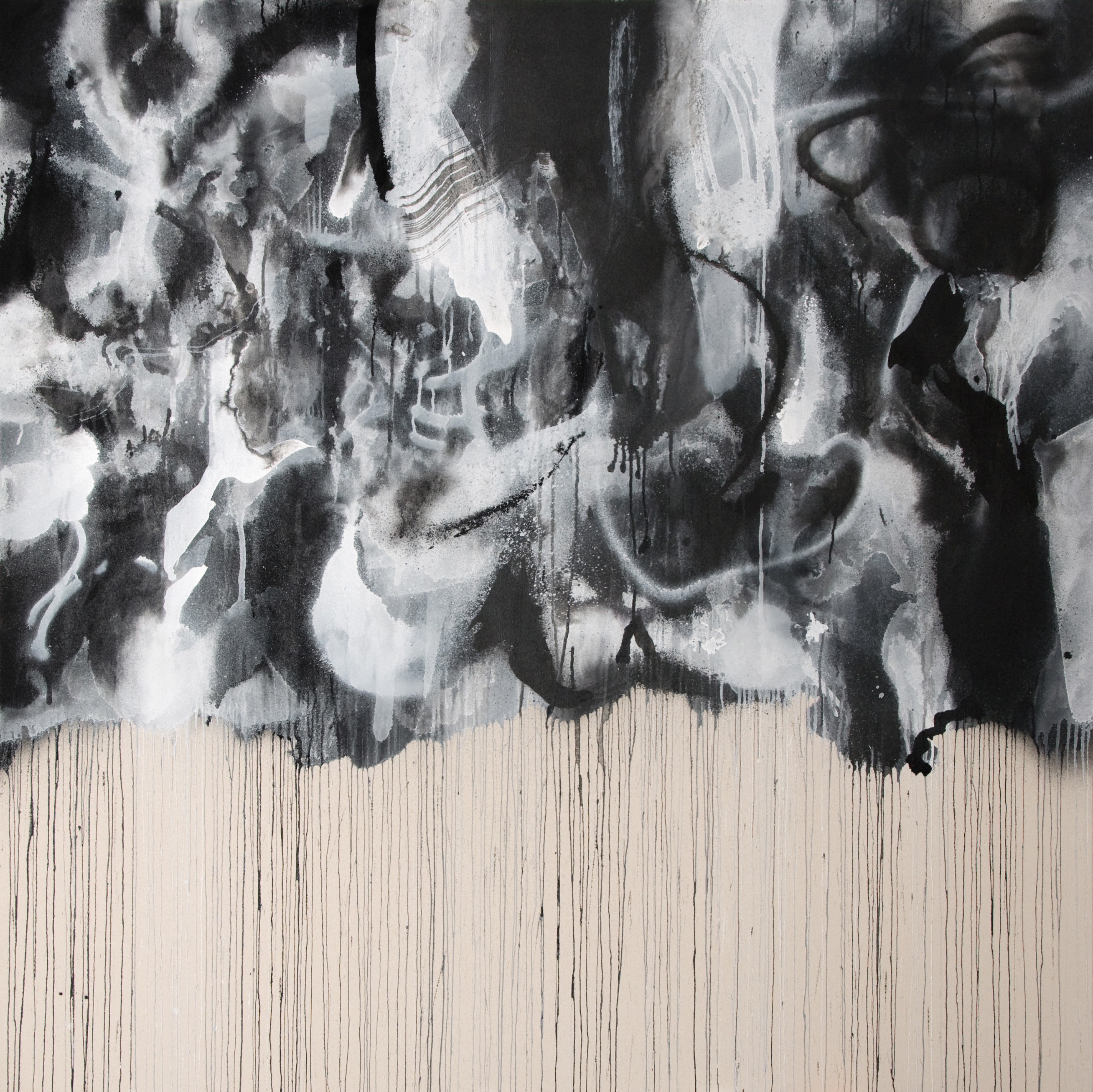 Avatar | 71 x 71 inches | paint on canvas