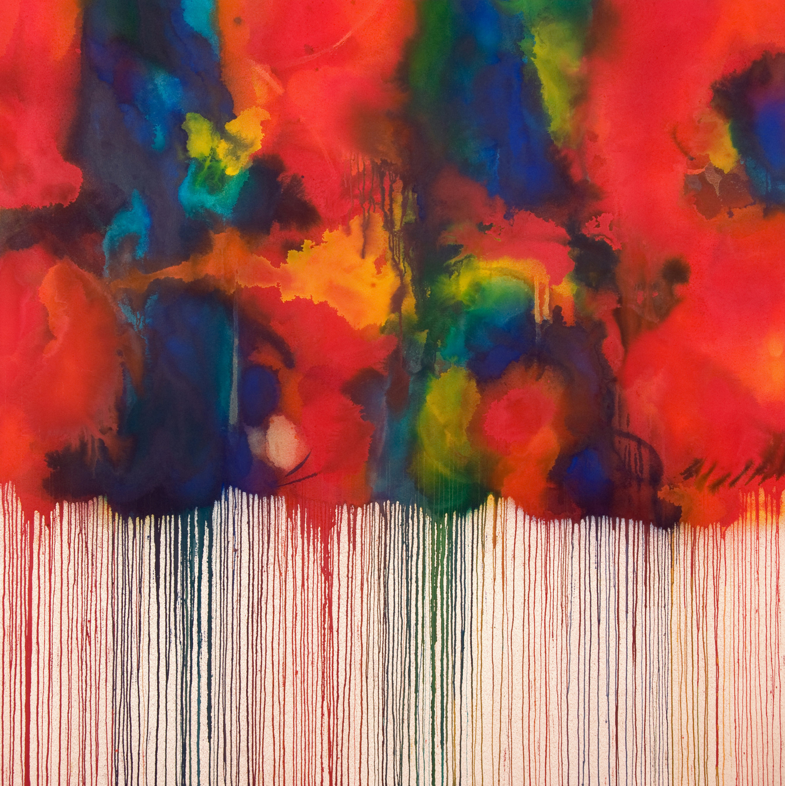 Elixir | 71 x 71 inches | paint on canvas