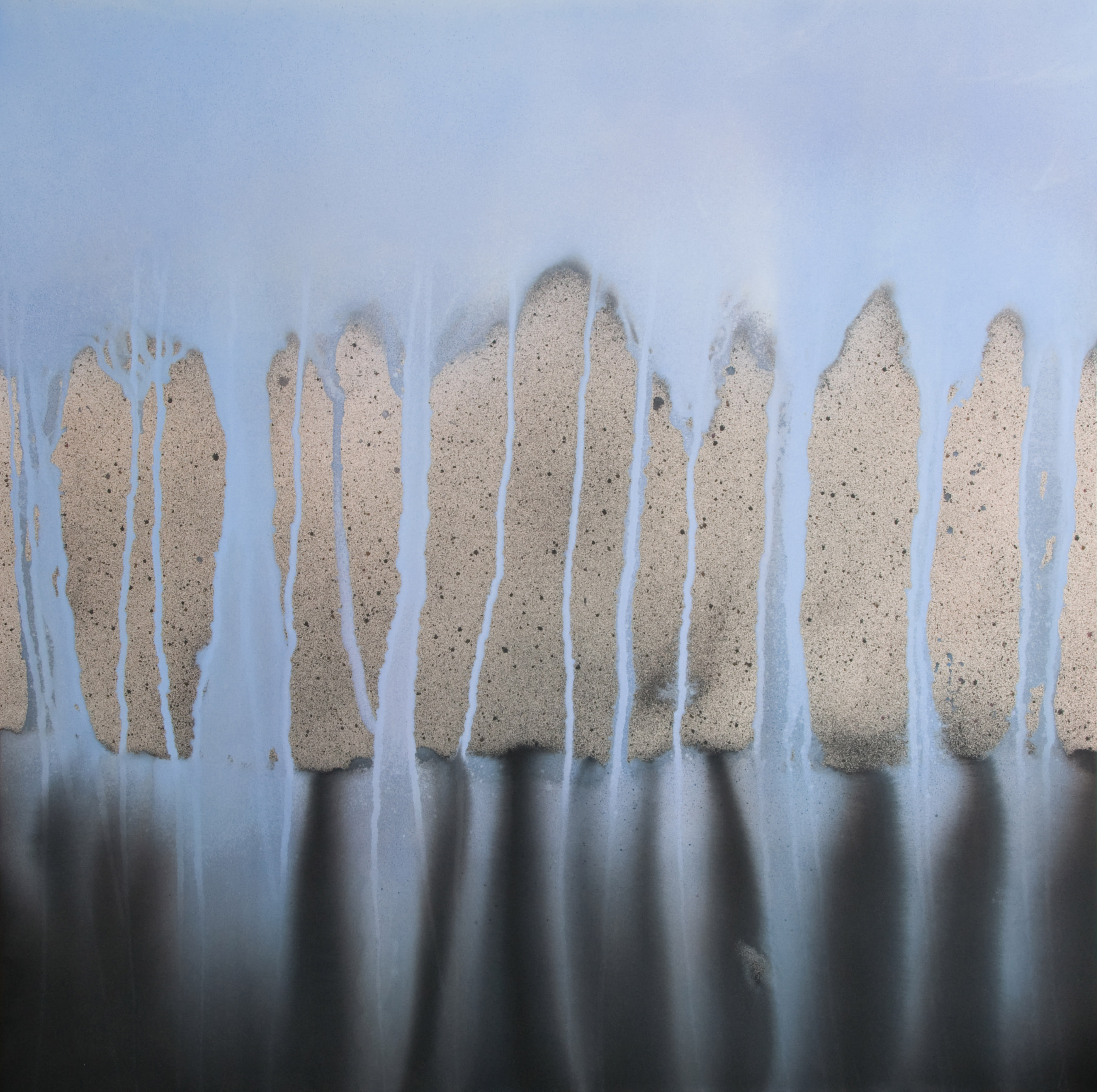 Essence | 71 x 71 inches | paint on canvas
