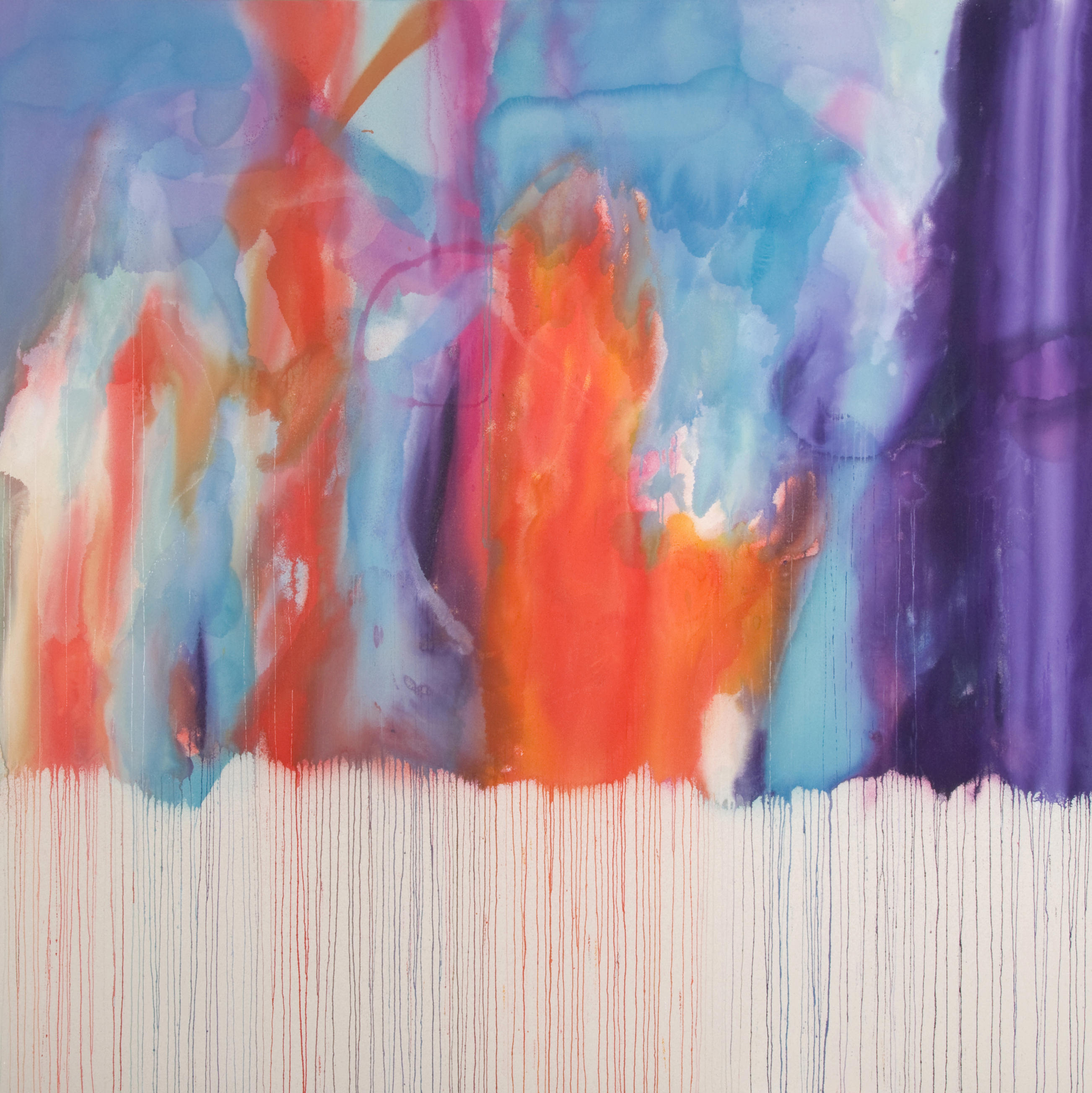 Ethereal | 71 x 71 inches | paint on canvas