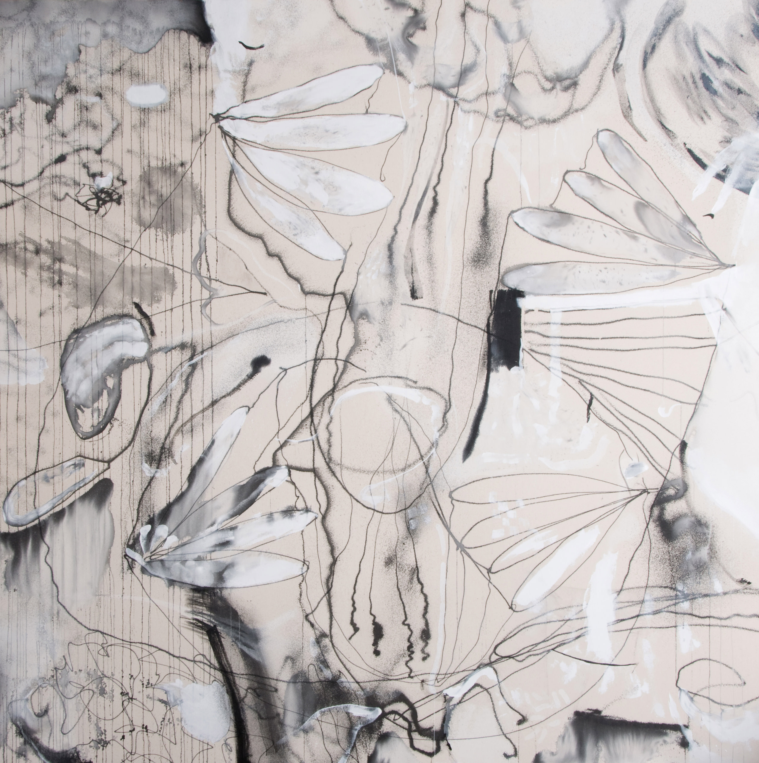 Instinct | 71 x 71 inches | paint on canvas