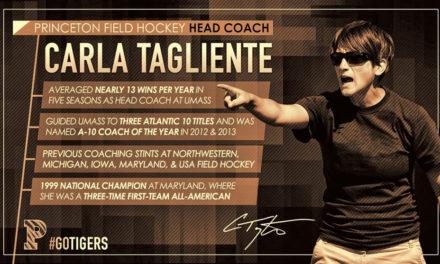 Princeton Names Carla Tagliente Head Coach