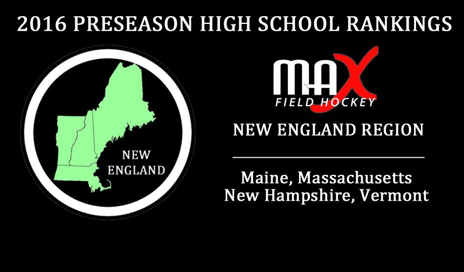 2016 High School Preseason Rankings – New England Region