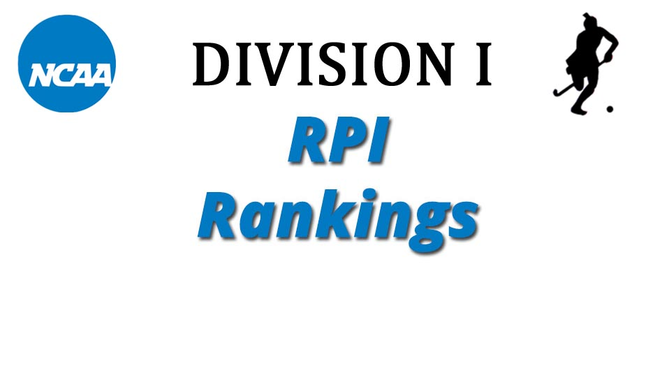 Updated NCAA Division I RPI Rankings, Duke Maintains Top Spot