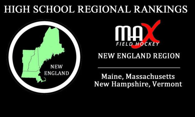 WEEK #1: New England Region High School Rankings