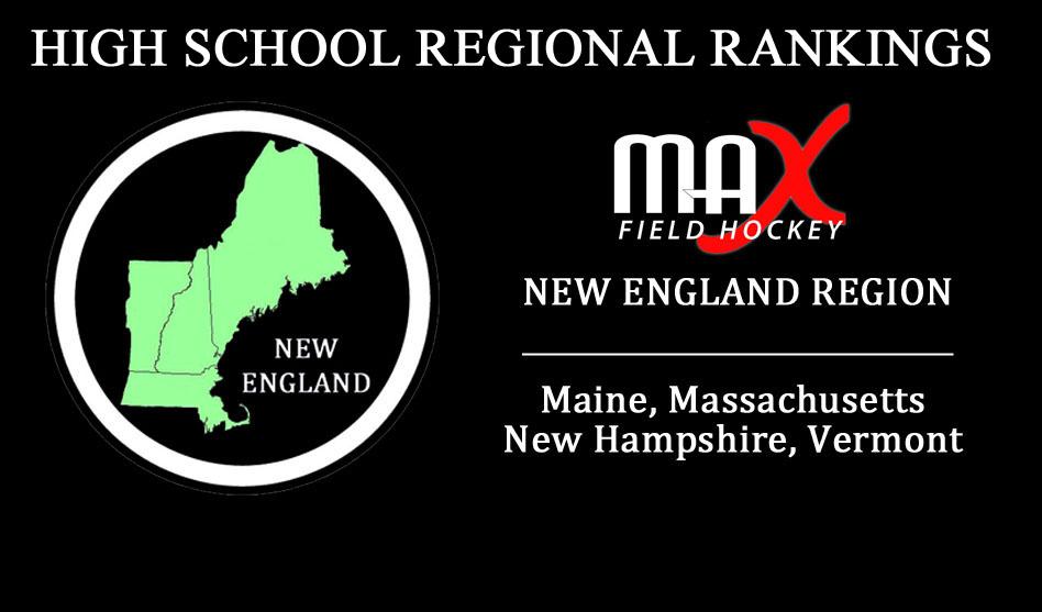 WEEK #8: New England Region High School Rankings