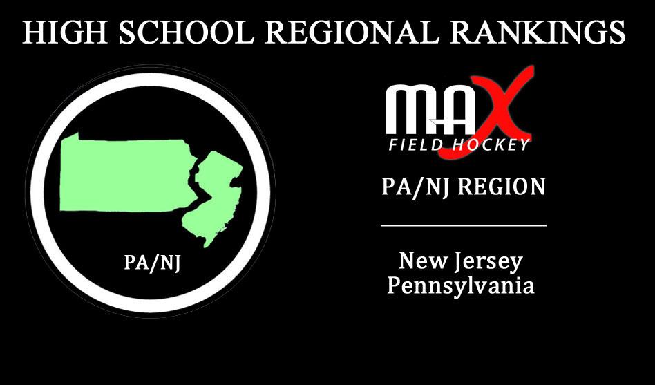 WEEK #2: PA/NJ Region High School Rankings