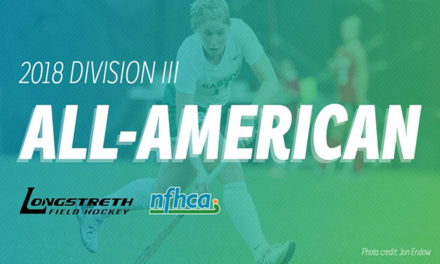 NFHCA announces 2018 Longstreth/NFHCA Division III All-American Teams