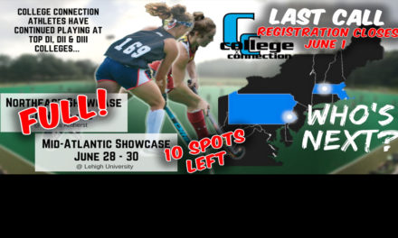 ONLY 10 SPOTS LEFT!!  College Connection Mid-Atlantic