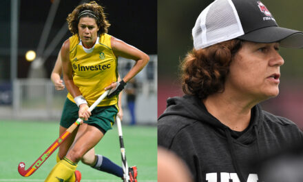 3x Olympian and record holder introduced the drag flick to the women's game