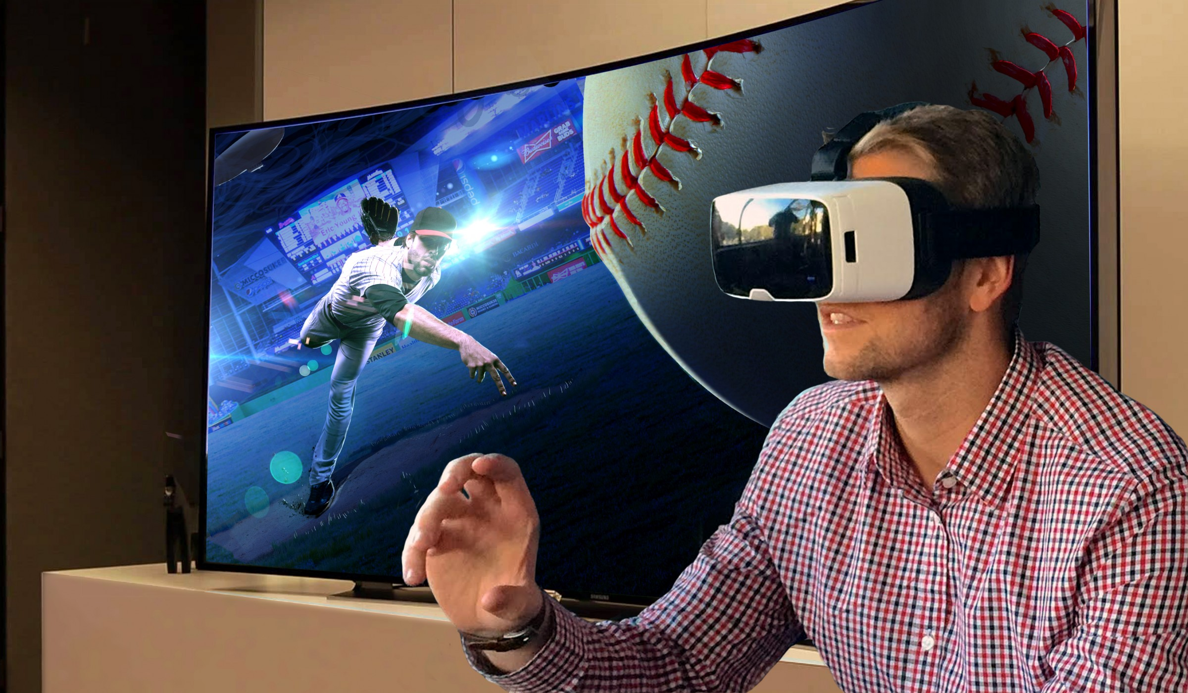 Virtual Reality provides a one way ticket to Anywhere, Any Pitcher, Any Defense