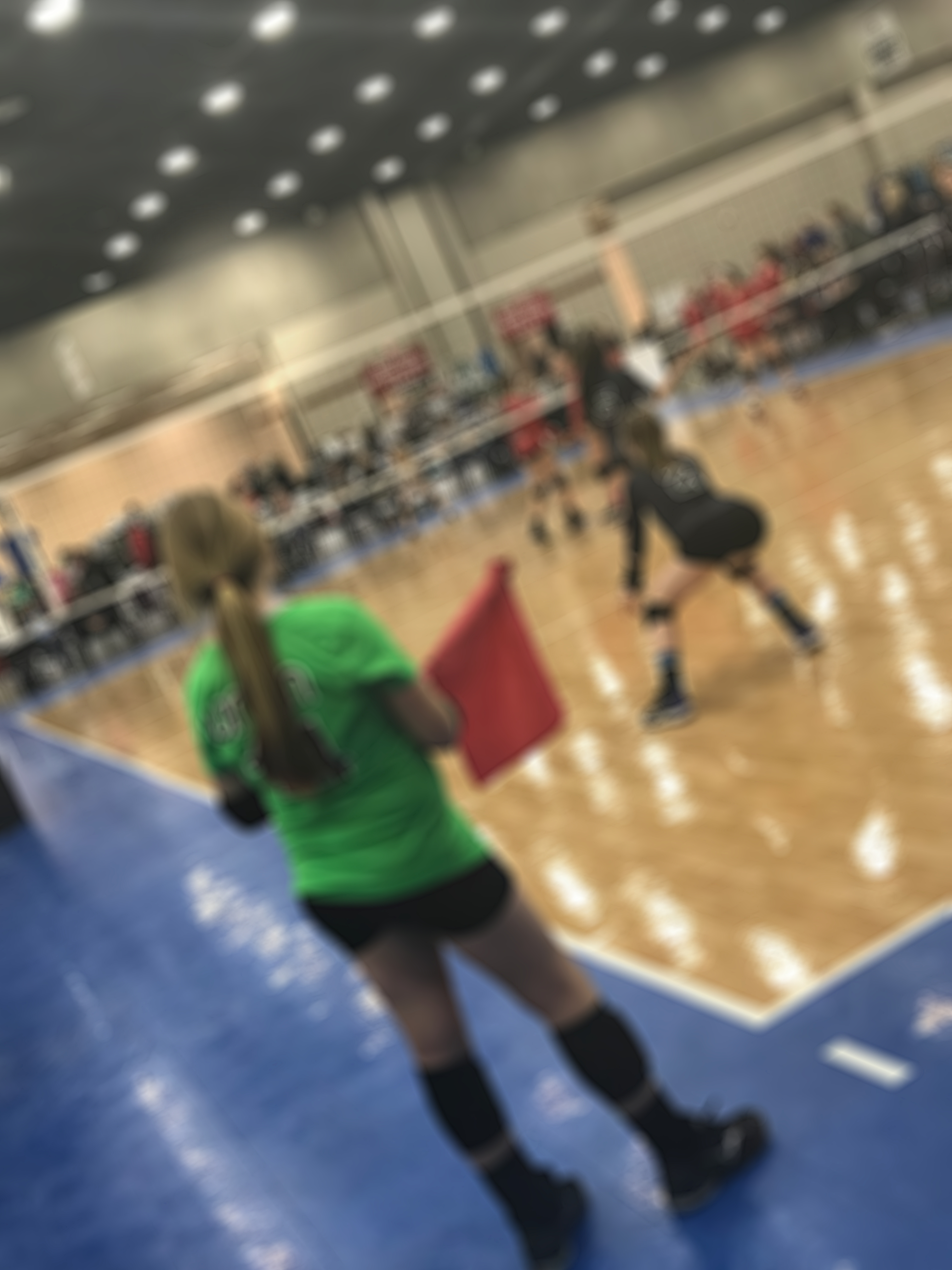Play, Ref, Play…A Volleyball Story