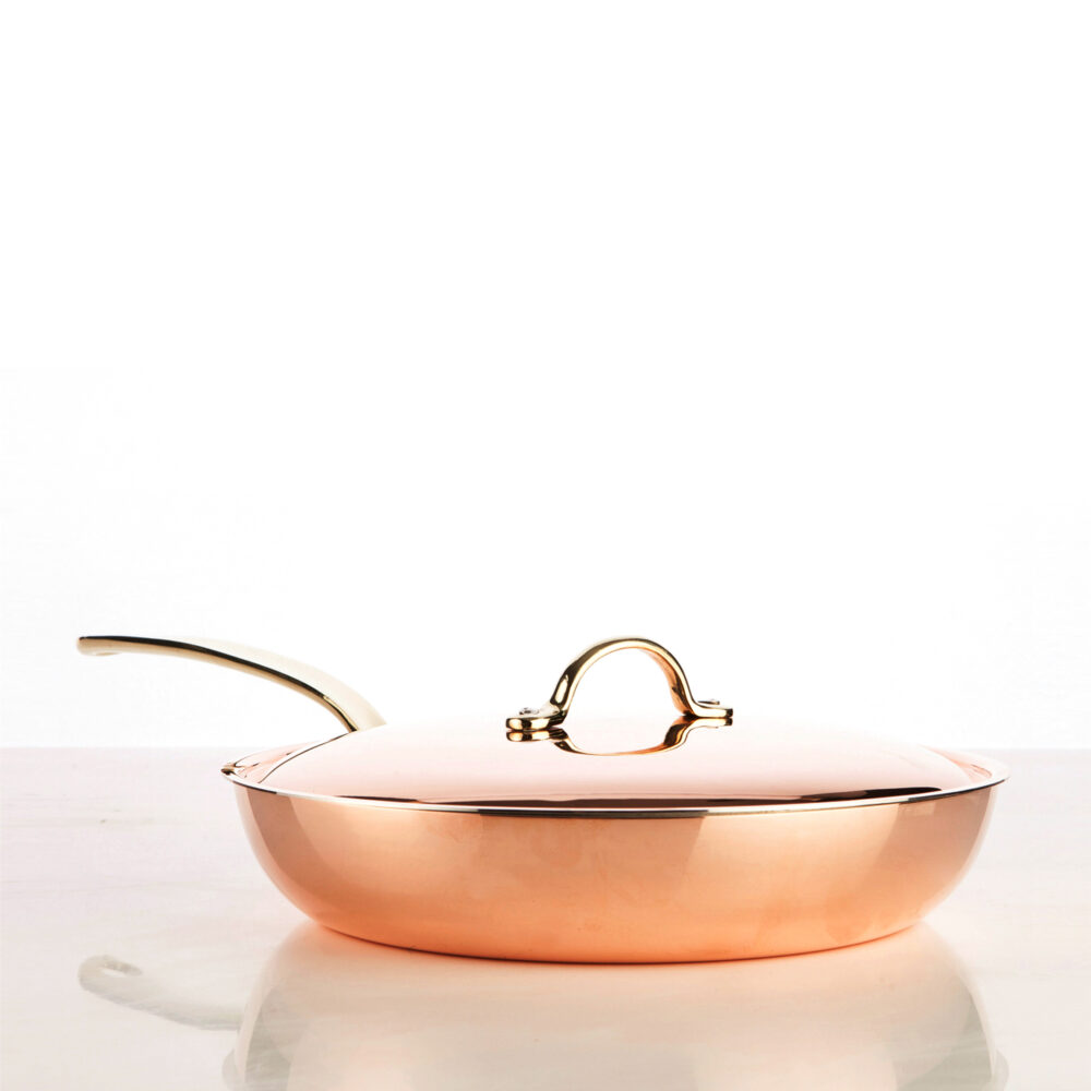 5400-18-copper-frying-pan-with-lid-18-cm-smooth-finish-square