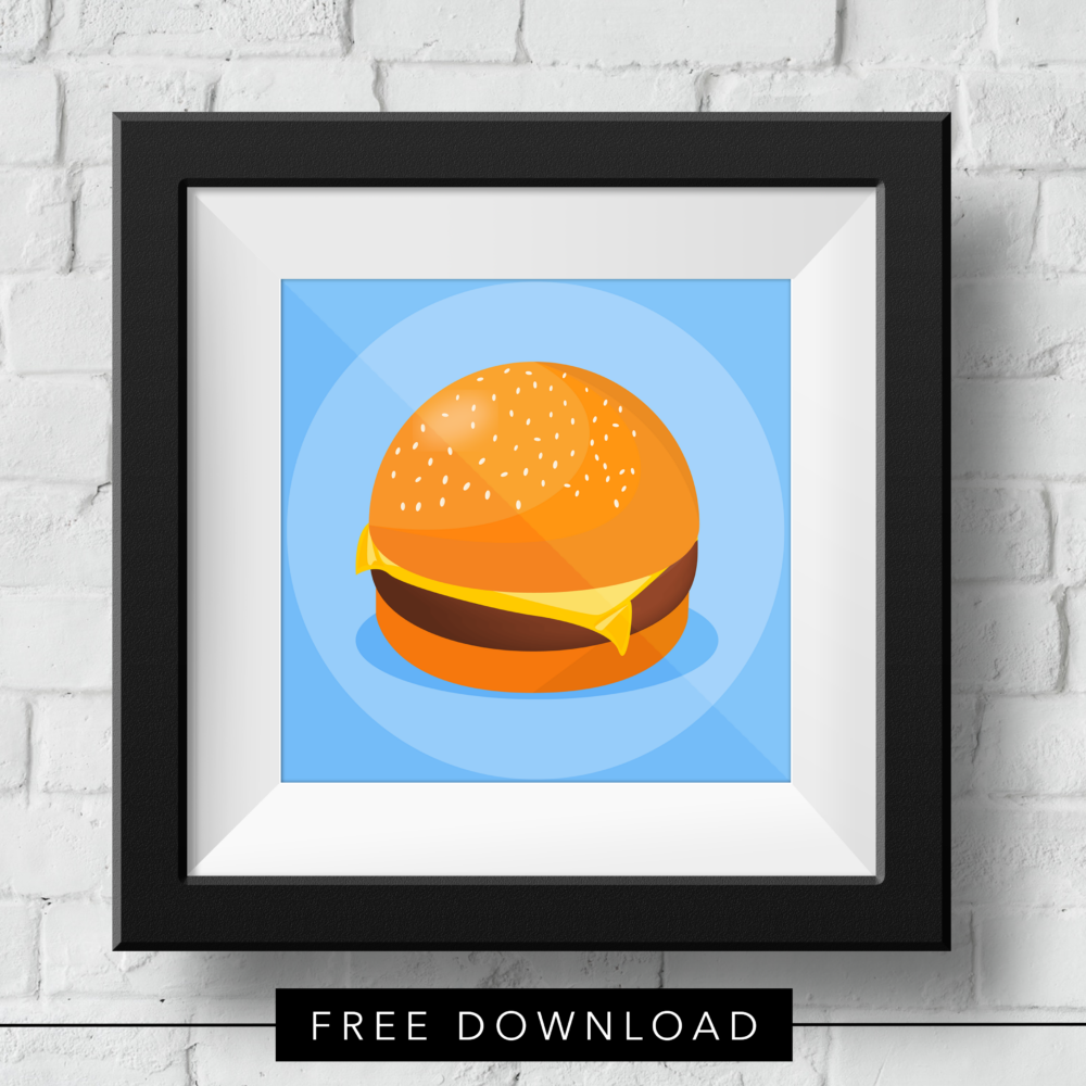 cheese-burger-free-download