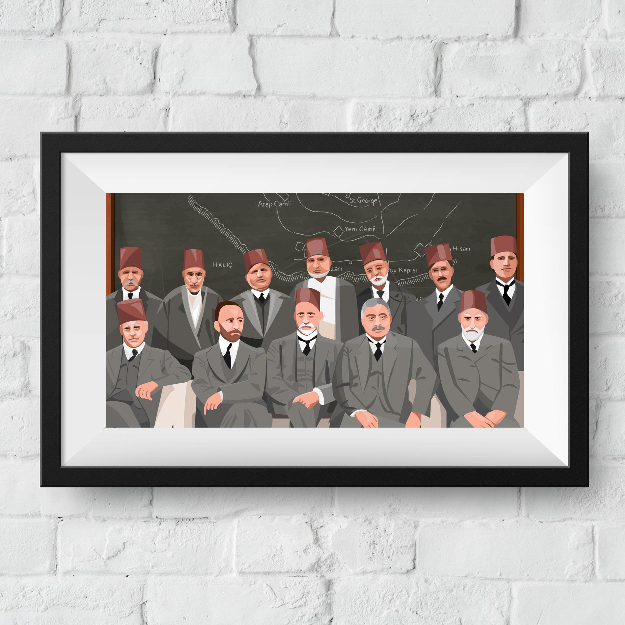 ottoman-framed