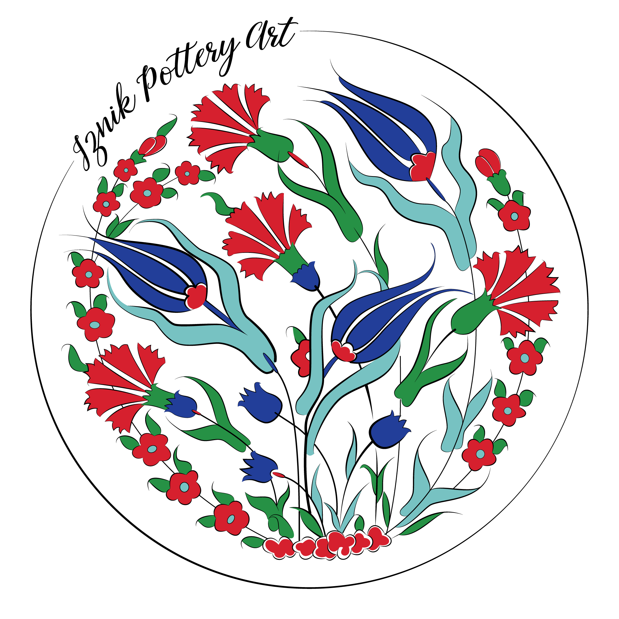 IZNIK POTTERY ART
