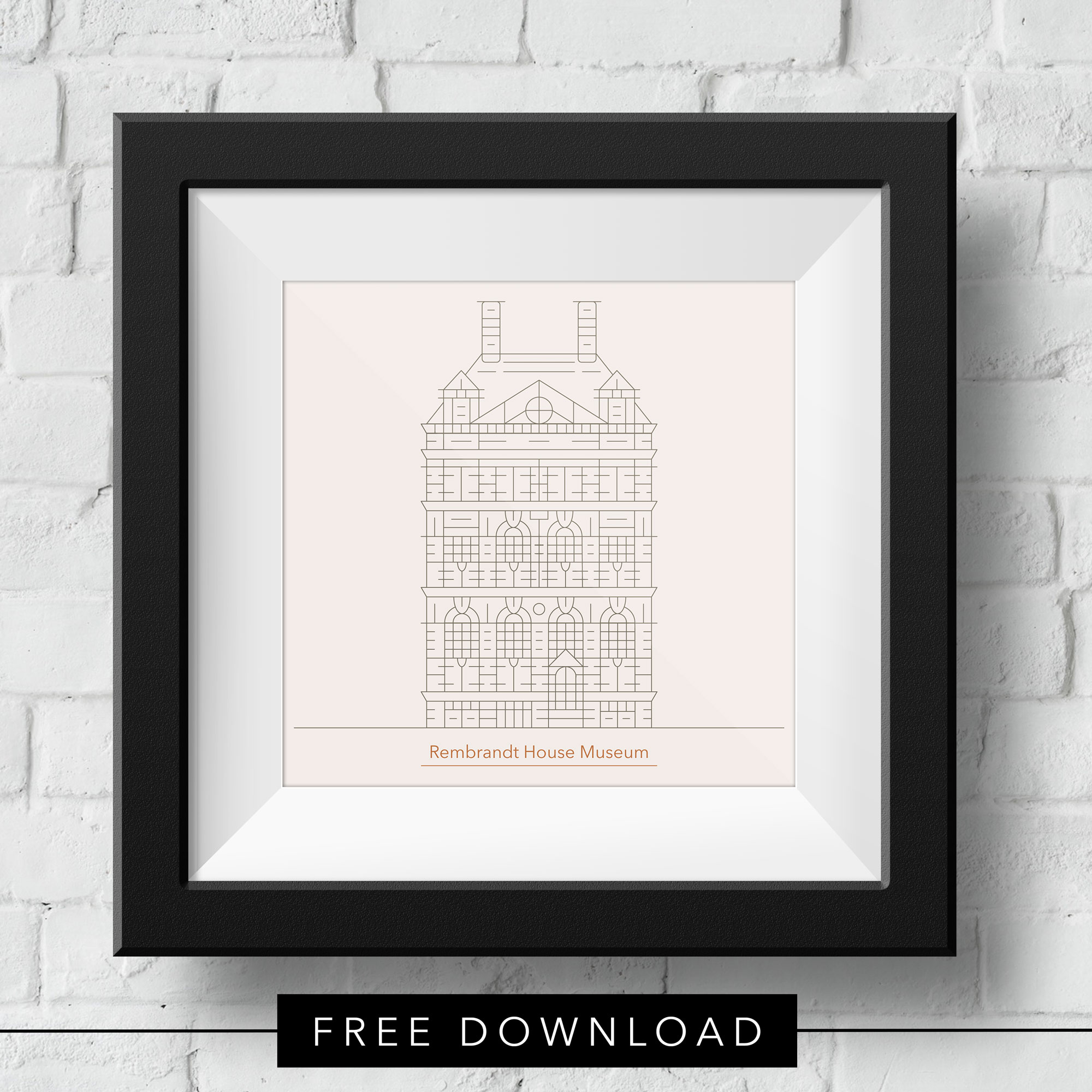 vector-rembrandt-house-free-download