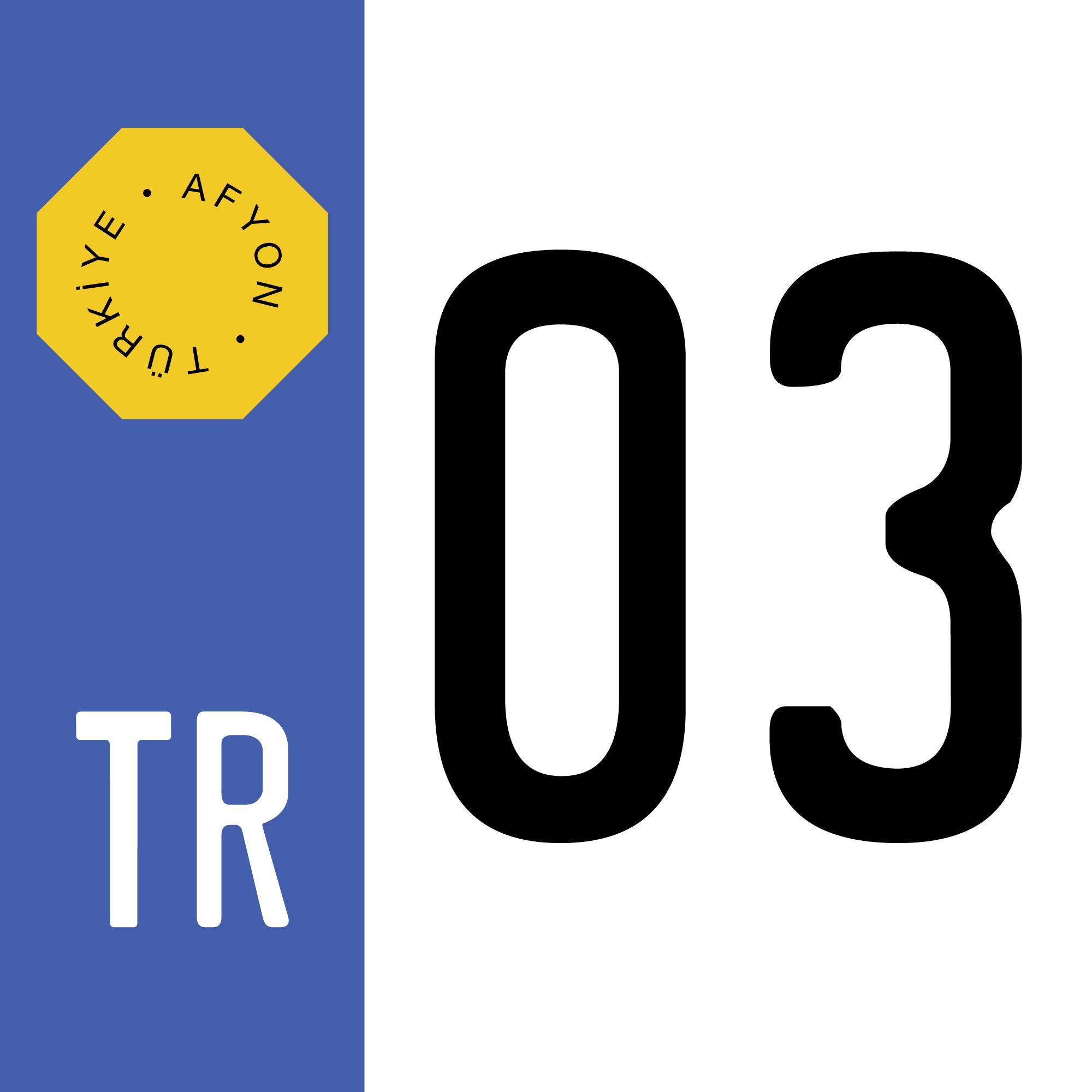 turkish-license-plate-03-afyon-province