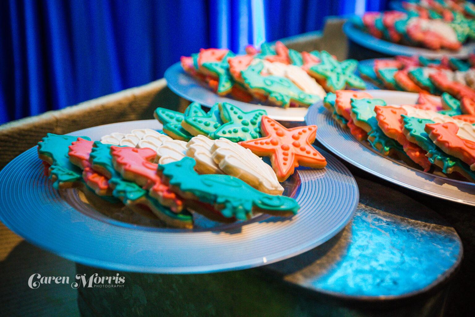 Under The Sea Sugar Cookies
