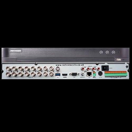 DVR 16 CANALES HIKVISION - 5 MP - H265+ - DS-7216HUHI-K2