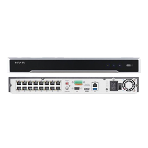 NVR 16 CANALES HIKVISION 12MP 4K H265+ DS-7616NI-I2