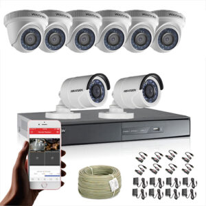 KIT CCTV HIKVISION DVR TURBO 8CH KIT-1
