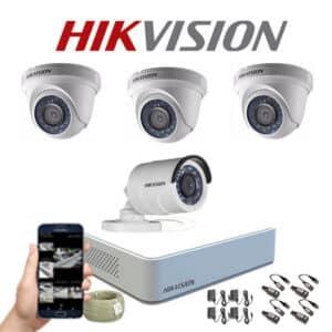 KIT CCTV HIKVISION MINI DVR FULL HD KIT-20