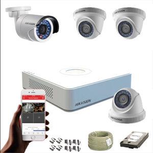 KIT CCTV HIKVISION MINI DVR FULL HD 1080P KIT-16