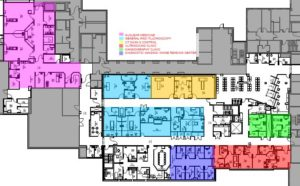 Hampton Veterans Administration Medical Center - Inpatient and Outpatient Diagnostic Imaging and Nuclear Medicine Renovation and Expansion Floor Plan