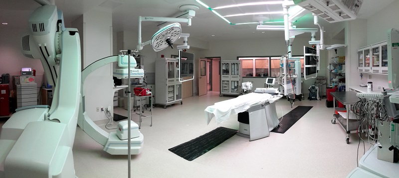 Centra Lynchburg General Hospital - Hybrid Operating Room Cath Lab * Performed QA/QC Site Inspections. HKS is Architect-of-Record.