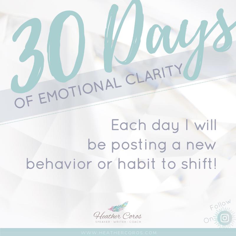 30 Days of Emotional Clarity