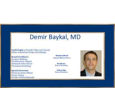 PULMONARY HYPERTENSION IN real world – Demir Baykal, MD