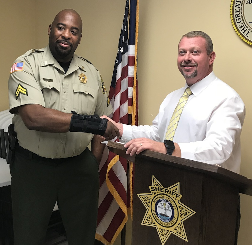 Chris Francis promoted to Sergeant
