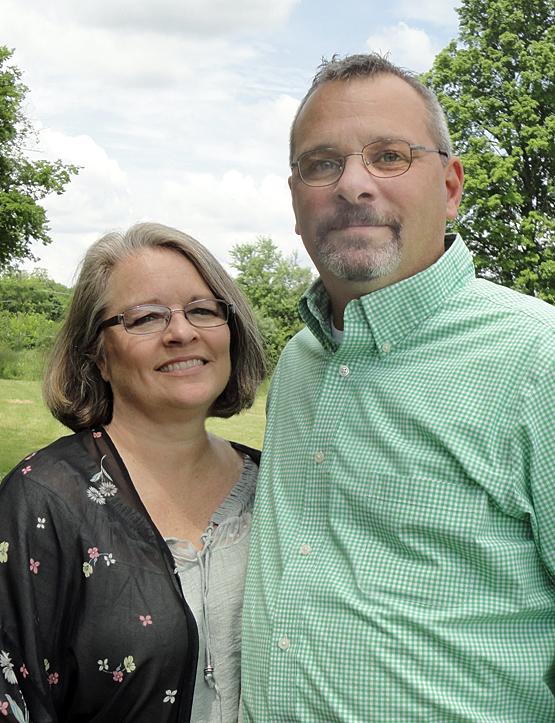 Chris and Angela White