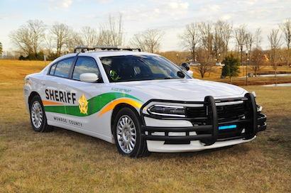 Newer model patrol car