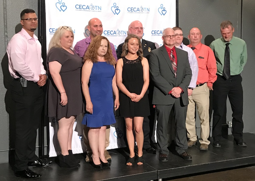 Monroe County 911 Dispatch, Monroe County Sheriff's Dept. and Monroe County EMS Honored at Tenth Annual Star of Life Award