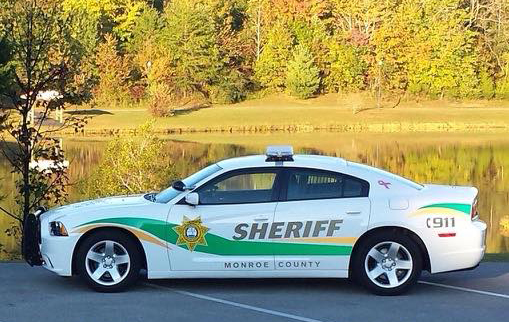 Patrol Vehicle at lake