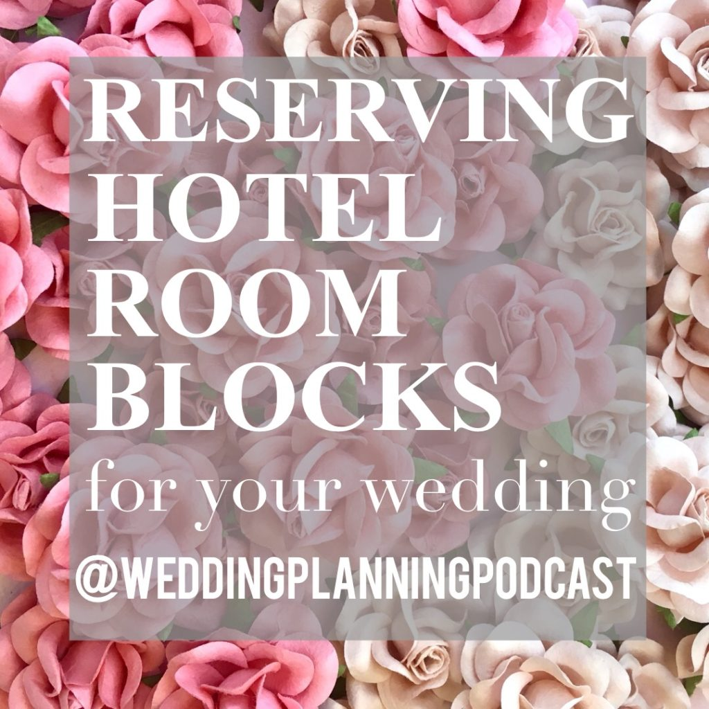 reserving hotel room blocks