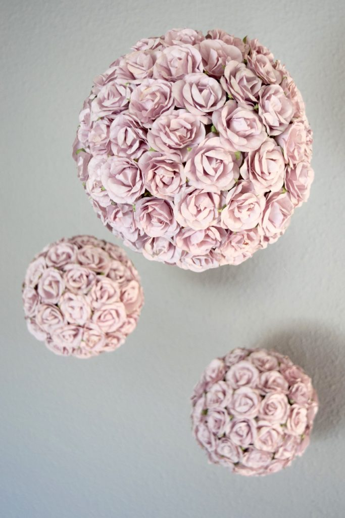 diy flower ball