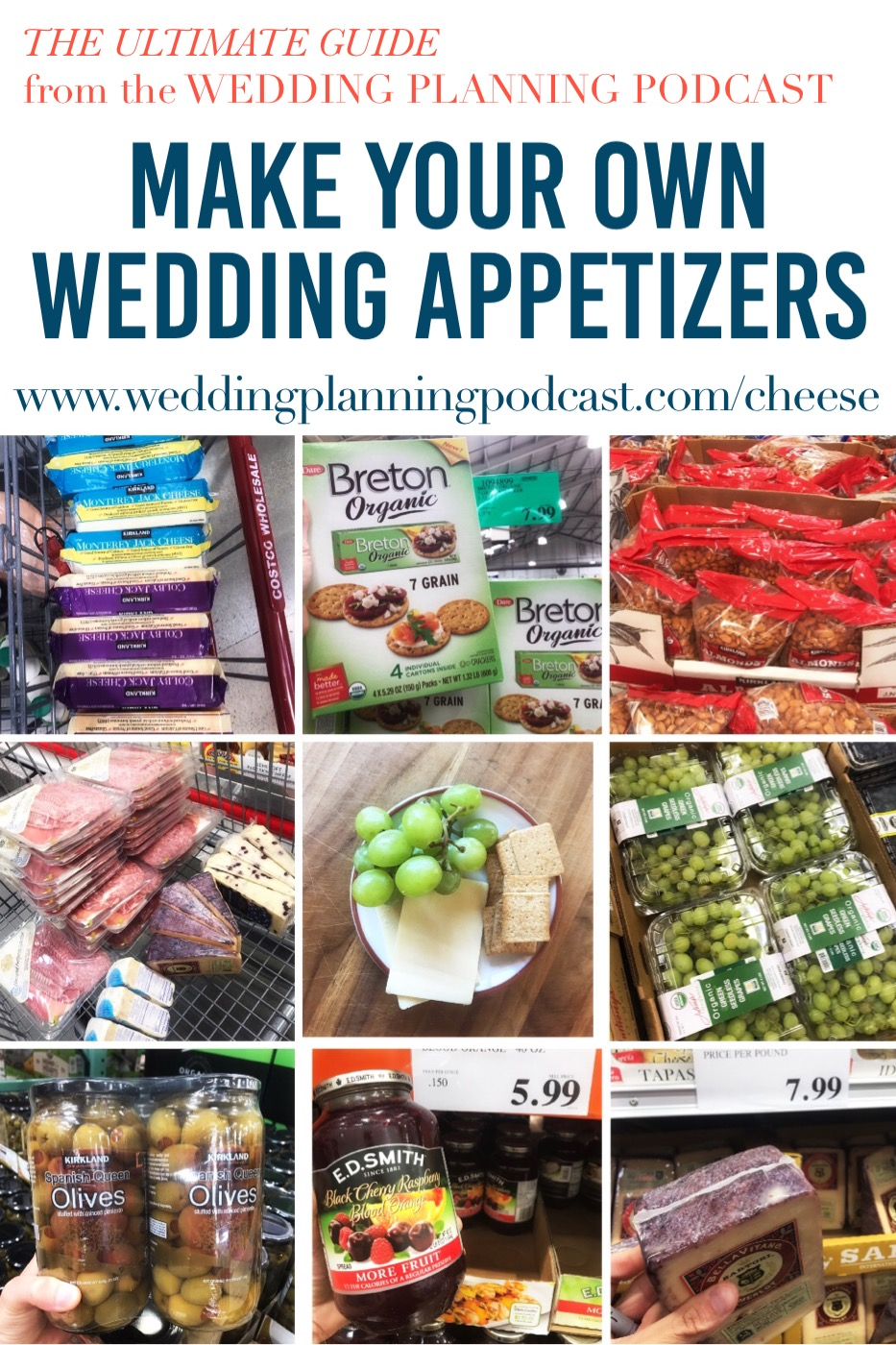 diy wedding appetizers