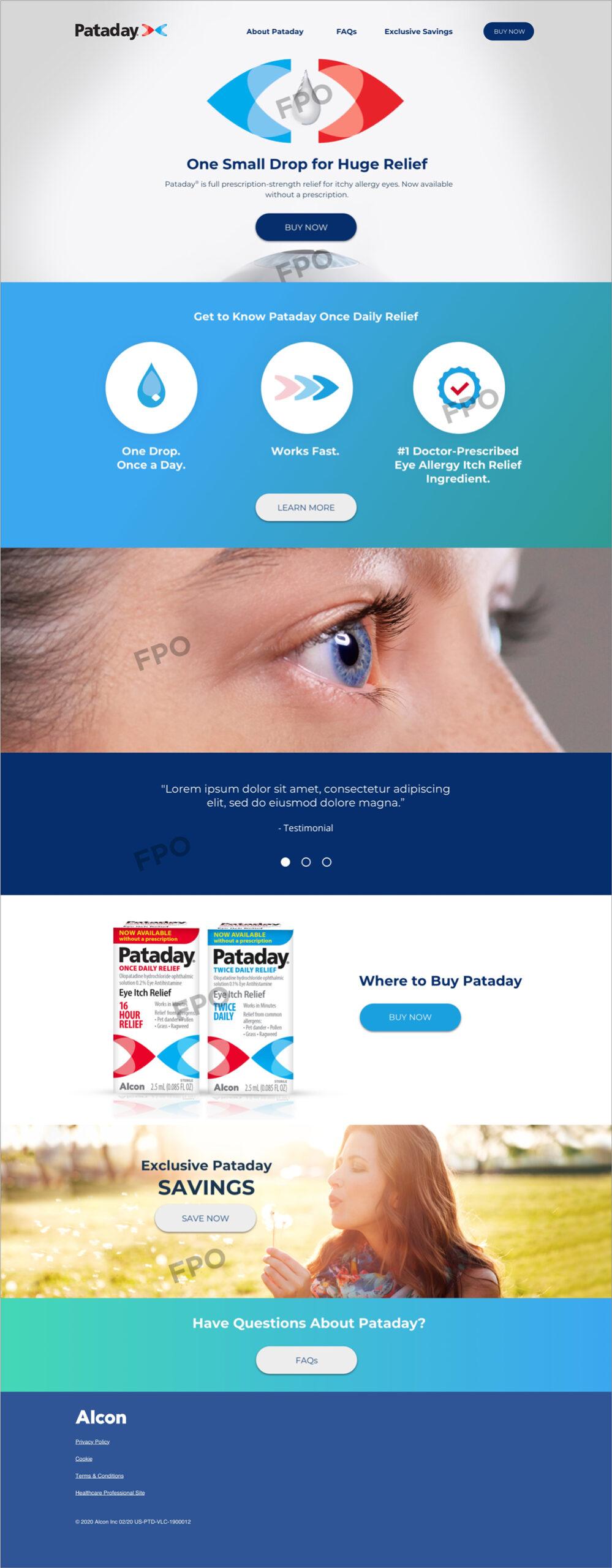 Pataday Desktop