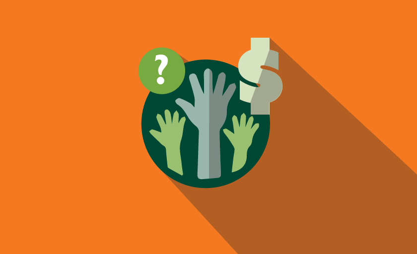 Who should pay for volunteer background checks
