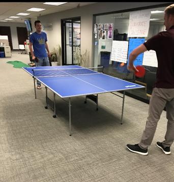 ping pong tourney