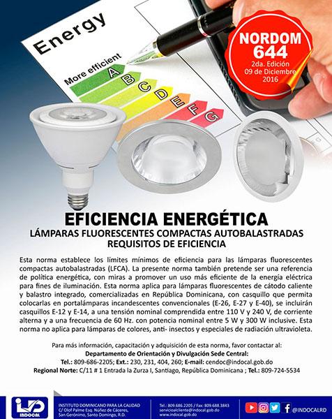 NORDOM-644 EFICIENCIA ENERGÉTICA