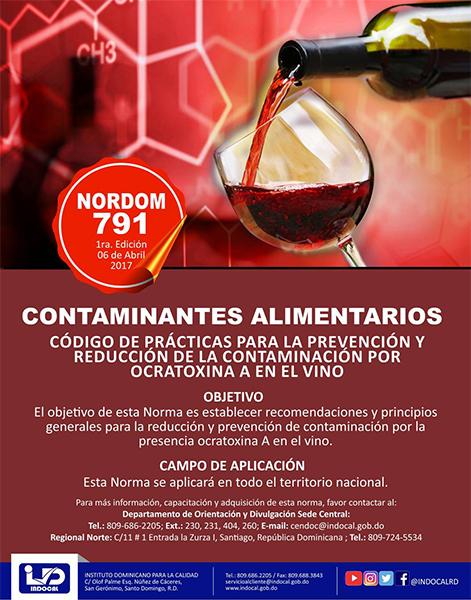 NORDOM-791 Contaminantes alimentarios